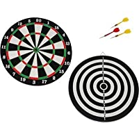Forever Online Shopping Double Sided Dart Board Game Quality As Per International Standard With 4 Darts Size 12""