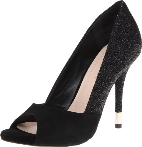 Bcbgeneration Mujeres Izzie Peep-toe Pump Black