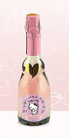 Hello Kitty vino - Dulce rosado espumoso Rosé VSQ Demi Sec Rosé