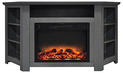 Cheap Hanover Tyler Park Corner Electric Fireplace 56