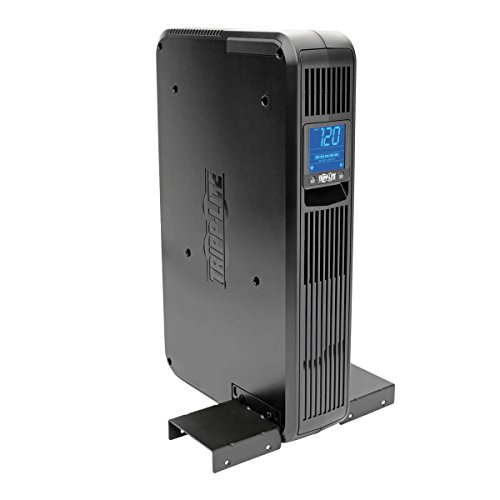 Tripp Lite 1500VA Smart UPS Battery Back Up, 900W Rack-Mount/Tower, LCD, AVR, USB, DB9 (SMART1500LCD) by Tripp Lite (Image #2)