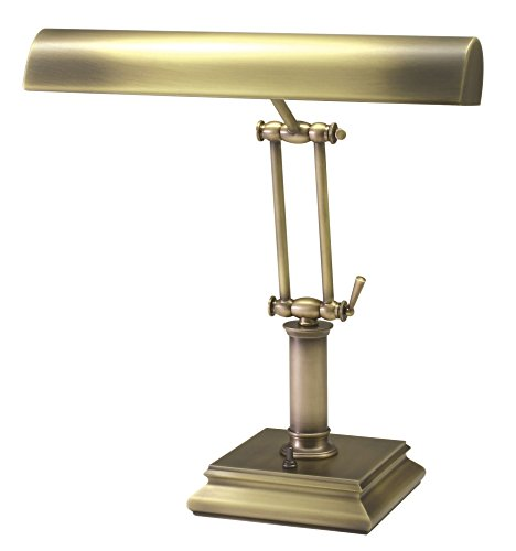 House of Troy P14-201-AB 14-Inch Portable Desk/Piano Lamp, Antique Brass Antique Brass Portable Table Lamp