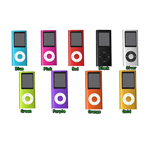 (Mp4 Player,1.8 Inch Mp4 Player 32GB Music Playing with Fm Radio Video Player E-Book Built-in Memory Player MP4(32GB))