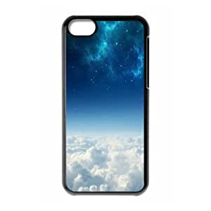 XiFu*Meiipod touch 4 Case,Cosmos Above White Clouds Hard Shell Back Case for Black ipod touch 4 Okaycosama375124XiFu*Mei