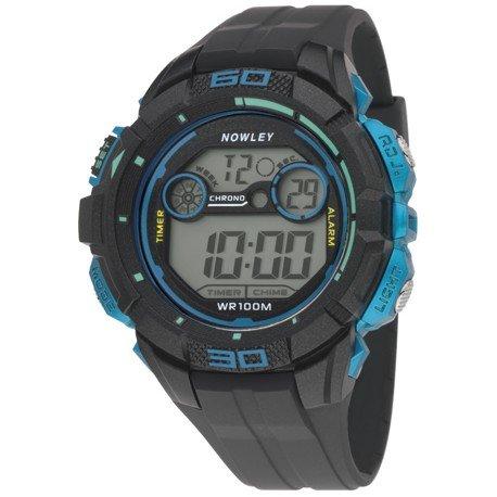 Nowley 8-6232-0-1, Reloj de hombre, digital, azul y negro.: Amazon.es: Relojes