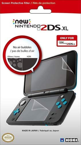 - HORI New Nintendo 2DS XL Screen Protective Filter - Officially Licensed by Nintendo