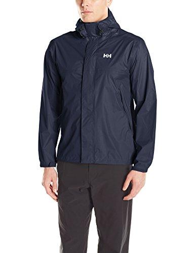 (Helly Hansen Men's Loke Waterproof Windproof Breathable Adventure Rain Jacket, 994 Graphite Blue, XX-Large)