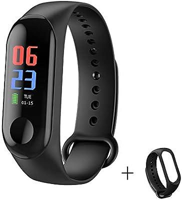 Hejia M3 Smart Watch Fitness podómetro de Pulsera + Correa del ...