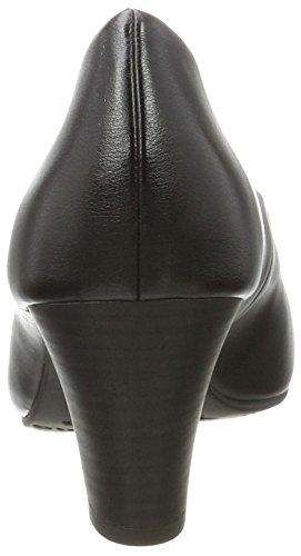 black Eu Matt 37 Femme Noir Patent 22423 Nude Escarpins Tamaris wzq8YCC