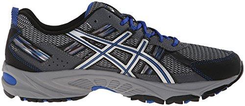 ASICS Men's Gel Venture 5 Running Shoe, Silver/Light Grey/Royal, 10.5 M US by ASICS (Image #12)