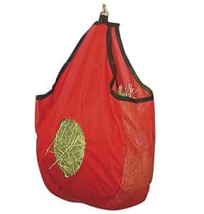 Mesh Gussett Hay Bag-red