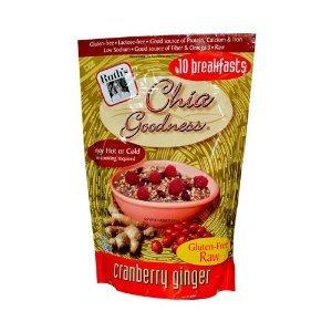 Ruths Hemp Food Chia Goodness - Cranberry Ginger - 12 oz