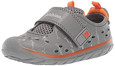 Stride Rite Unisex-Child Made2play Phibian Baby/Machine Washable Water Play Sneaker Grey Size: 3 M US Little Kid
