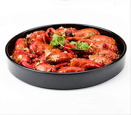 LTYD Plat De Cuisson Pas Collant La Sécurité Hot Pot Couverts Cuit Barbecue Assiette 1 Pièce Buffet Disque Homard Pot Assiette