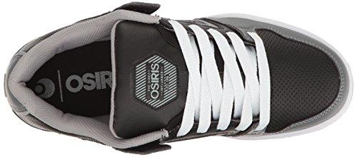 Osiris Herren PXL Skateboard Schuh Holzkohle / Grau / Rot