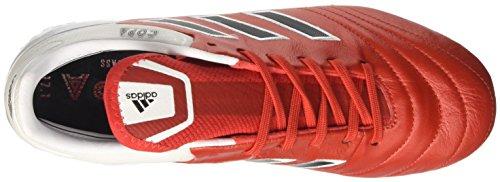 adidas Copa 17.1 Sg, Zapatillas de Fútbol para Hombre Rojo (Red/c Black/ftw White)