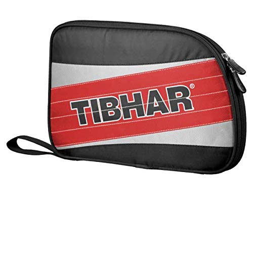 (TIBHAR Spy Single Table Tennis Racket Case, Red Color)