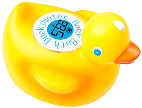 Duckymeter, the Baby Bath Floating Duck Toy and Bath Tub Thermometer