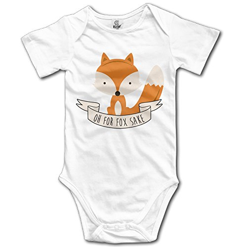 Quick Fox Costume (Funny Vintage Unisex Oh For Fox Sake Baby Costume Baby)