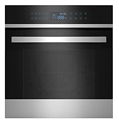 """Empava 24"""" 9 Cooking Functions Electric LED Digital Display Touch Control Built-in Convection Single Wall Oven EMPV-B21LTL"""