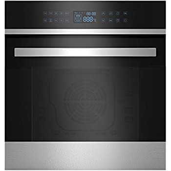 Fagor 6HA200TDX 24-Inch European Convection Oven with LCD Touch Control and Child Safety Lock