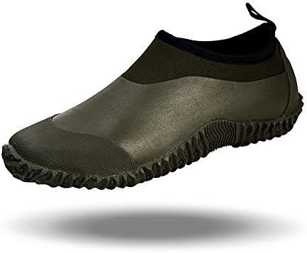 babaka Men's Rain Shoes Garden Waterproof Women's Rain Boots Rubber Outdoor  Footwear Blackish Green 5 Men/6.5 Women: Buy Online at Best Price in UAE -  Amazon.ae