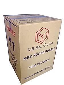 Tea Chest Moving Boxes – 40 Bulk Value Pack