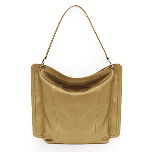 Gretchen, Borsa a mano donna Giallo Honey Yellow