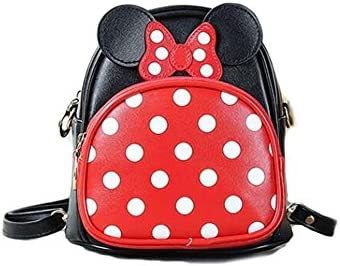 c8f0856b24c3 Finex Minnie Mouse Backpack Small 2-in-1 Crossbody bag Mini Backpack ...