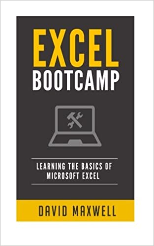 amazon com excel bootcamp learn the basics of microsoft excel in 2