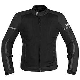Snaefell Performance Racing Unisex Torque Motorcycle Jacket (Black, Medium)