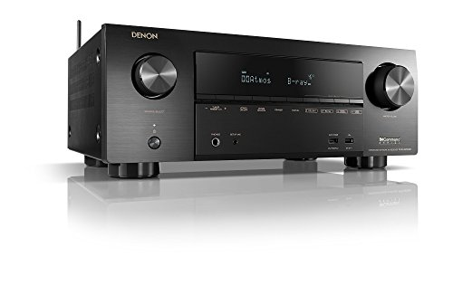 Denon AV Receivers Audio & Video Component Receiver BLACK (AVRX2500)