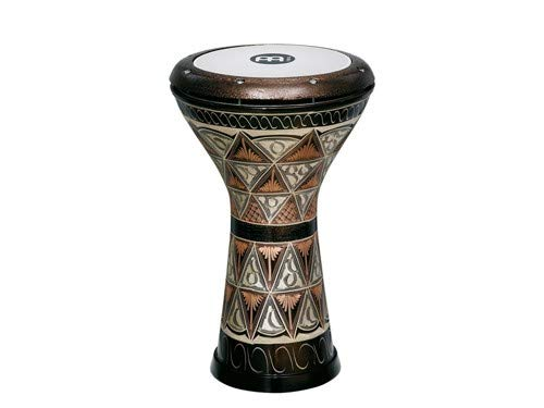 Meinl Percussion Doumbek with Hand Engraved Copper Shell - MADE IN TURKEY - 8.5'' Tunable Synthetic Head, 2-YEAR WARRANTY (HE-3012) by Meinl Percussion