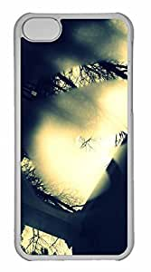 iPhone 5C Case, Personalized Custom Steamy Window 2 for iPhone 5C PC Clear Case
