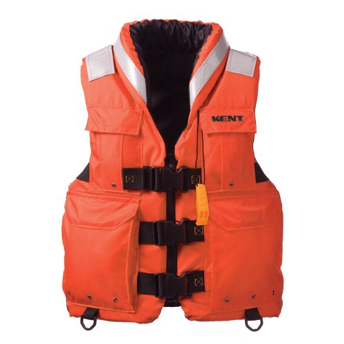 Kent Sar- Search and Rescue Commercial Life Vest - Persons over 90-Pounds (Orange, XX-Large, 48-52-Inch Chest) -