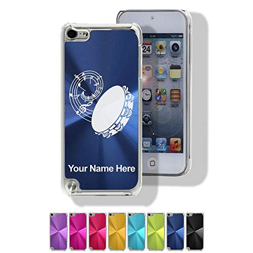 Case Compatible with iPod Touch 5th/6th Gen, Tambourine, Personalized Engraving Included