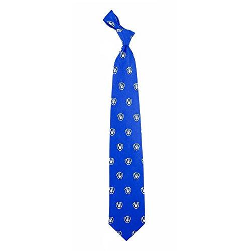 (Milwaukee Brewers Prep Silk Necktie)