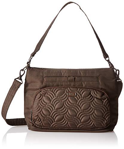 (Lug Samba Crossbody Bag, Brushed Chocolate, Brown)