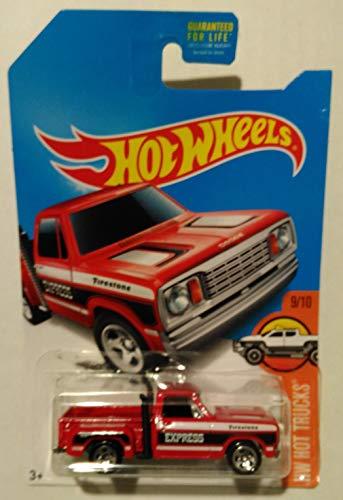 Hot Wheels, 2017 HW Hot Trucks, 1978 Dodge Li'l Red Express Truck [Yellow] 11/365