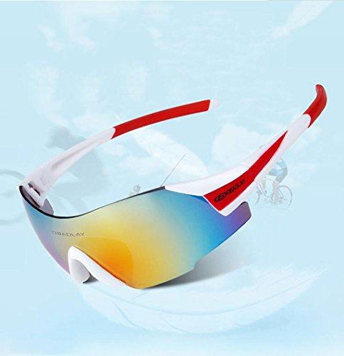 Parabrisas a a e Impermeable PC Gafas de B al Prueba Prueba Deportes Sol de Polvo Aire explosiones de Libre Ciclismo qgw8tZ4