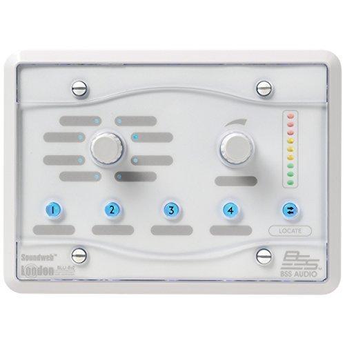 BSS BLU-8-V2-WHT | HiQnet Programmable Zone Controller White