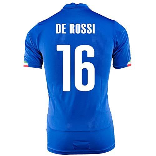 記念日汚染された舗装PUMA DE ROSSI #16 ITALY HOME JERSEY WORLD CUP 2014/サッカーユニフォーム イタリア代表 ホーム用 ワールドカップ2014 背番号16 デ?ロッシ