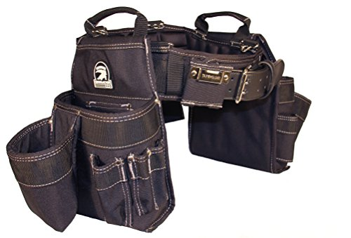 Gatorback Professional Carpenter's Tool Belt Combo w/Air-Channel Pro Comfort Back Support Belt. (Medium 31-35 Inch Waist) (Best Tool Belt For Roofing)