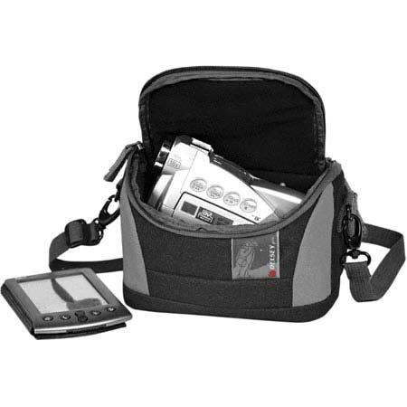 (Delsey GOPIX 10BG, Small Belt Pouch for Digital Gadgets, Black &)