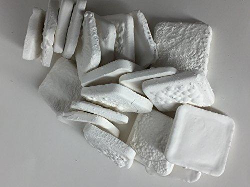 100 Ceramic Coral Frag Tiles ReefCreators 1.25'' Square by ReefCreators
