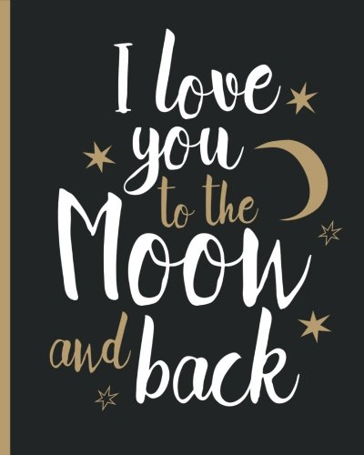 Love you Moon Back Notebook product image