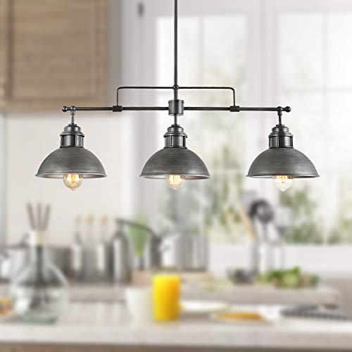 Three Light Kitchen Pendant in US - 7