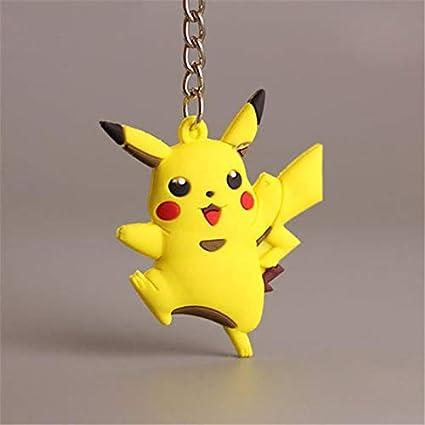 Llavero de Goma Pokémon Doble Cara (Pikachu): Amazon.es ...