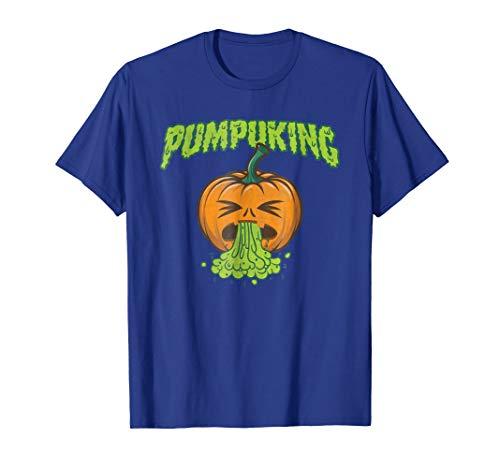 Halloween spooky Pumpkin puke for Kids -