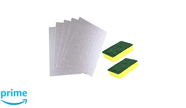 Poweka - Funda para microondas de 12,7 x 20,3 cm con esponja ...